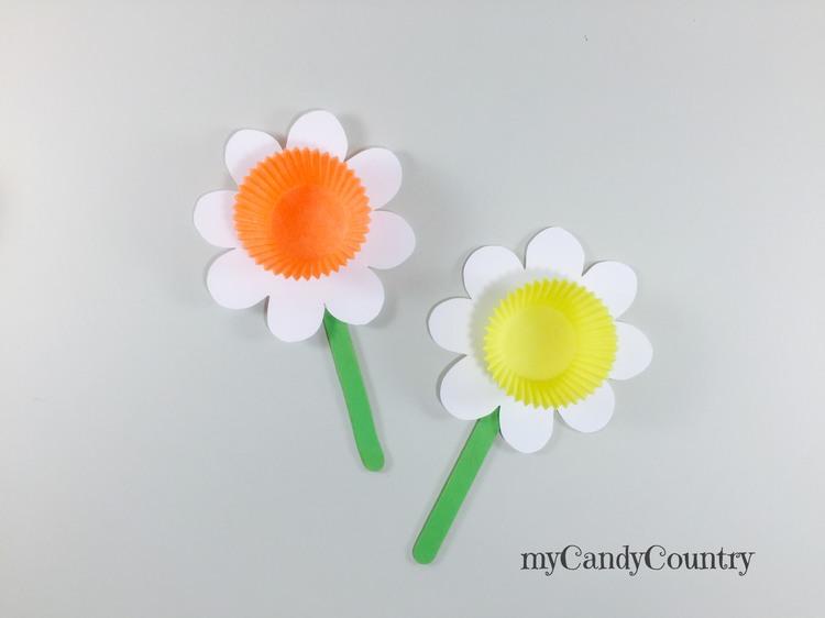Fiore di carta fai da te carta e cartone home decor Primavera fai da te