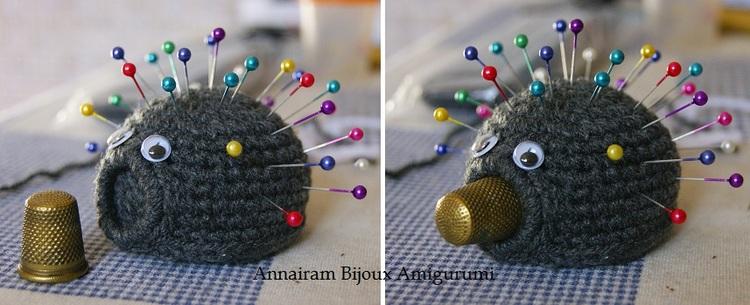 Amigurumi tutorial del riccio puntaspilli amigurumi creativapp stoffa e lana