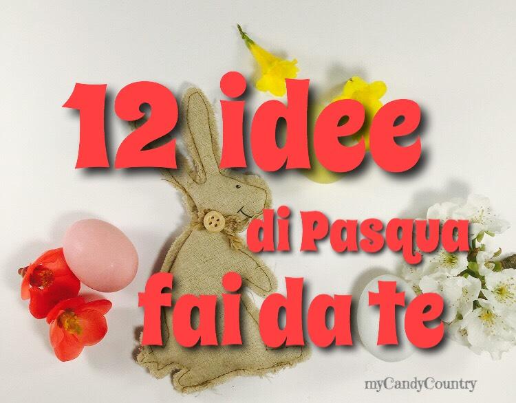 Amato Idee Pasqua fai da te : 12 lavoretti semplici da fare | Pasqua fai  XW22