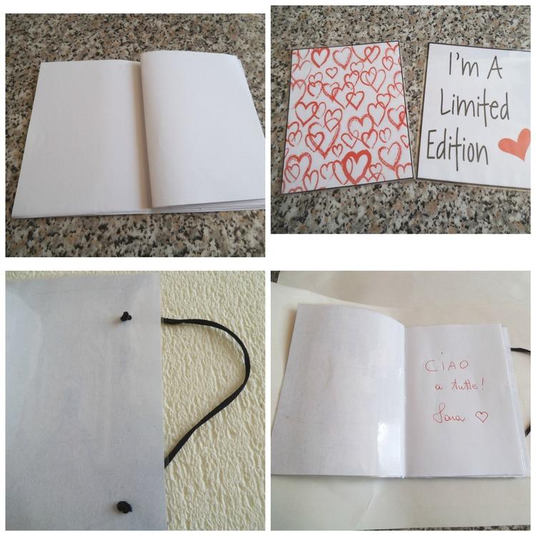 Quaderni fai da te con immagini personalizzate carta e cartone creativapp packaging