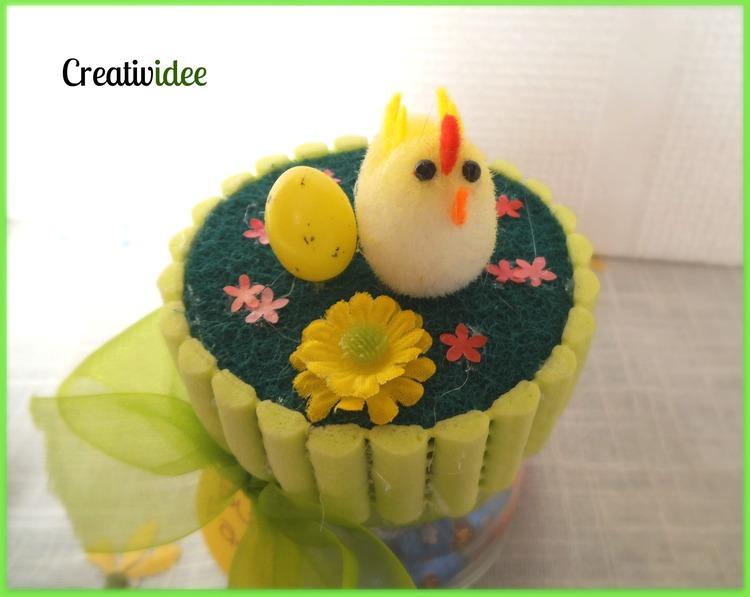 Vasetti fai da te per Pasqua creativapp Pasqua fai da te Riciclo Creativo