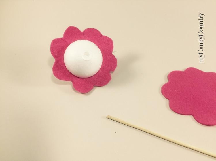 Fiore fai da te per la Festa della Mamma Festa della mamma fai da te Primavera fai da te Riciclo Creativo