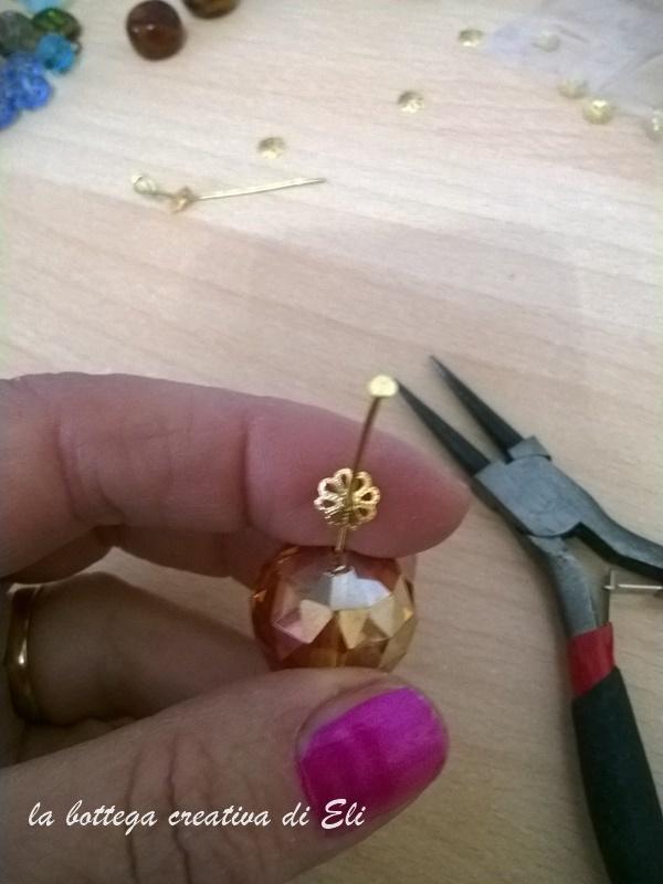 Come fare un bracciale a cerchi super chic Bijoux fai da te creativapp Riciclo Creativo