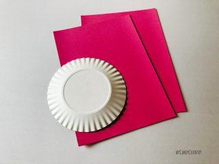Cuore alato con ali di piatto di carta (11)11
